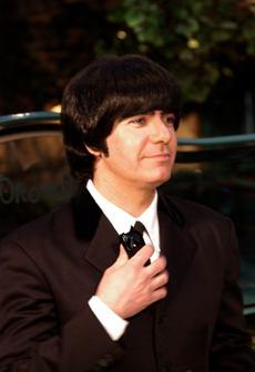 Joe Bithorne as George Harrison